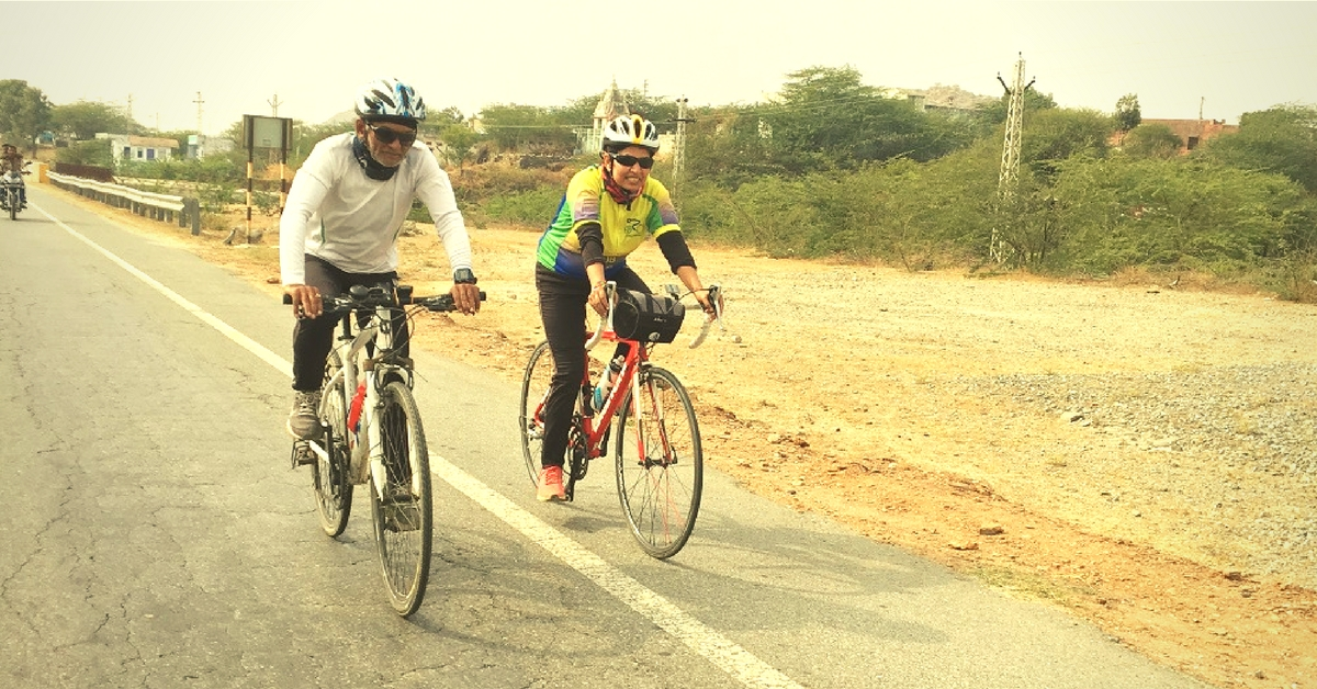 In Their 50s, This Couple Cycled 1,000 Km in 10 Days to Spread an Important Message