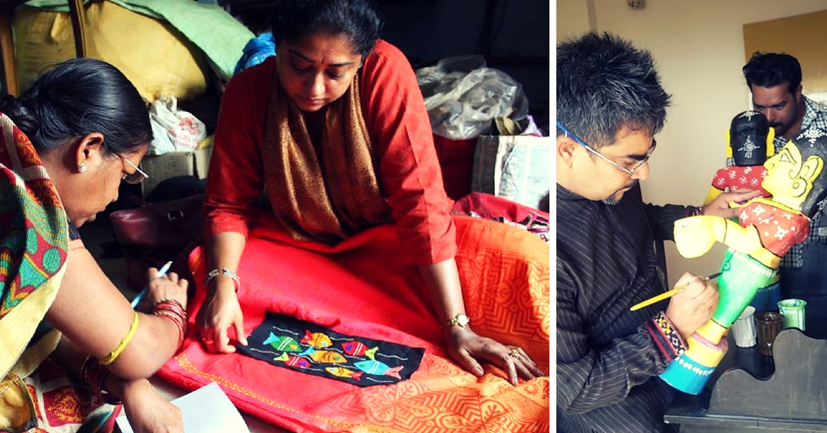 This Initiative is Helping Rural Artisans Create Masterpieces by Collaborating with Modern Artists