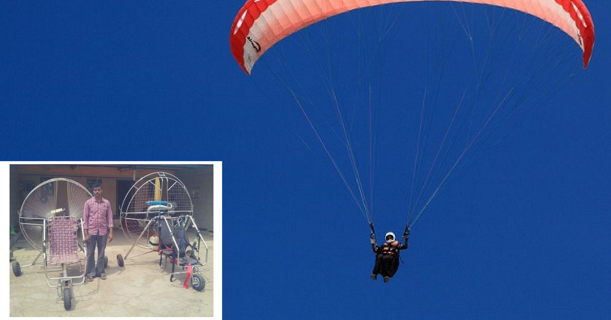 Flying High: How a School Dropout From Tamil Nadu Is Designing Low-Cost Paragliders