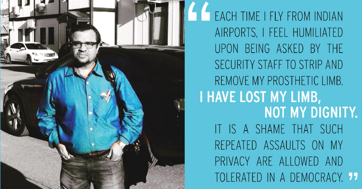 'I Am Not Asking for Charity' – the Man Fighting for Disabled-Friendly Screening at Indian Airports