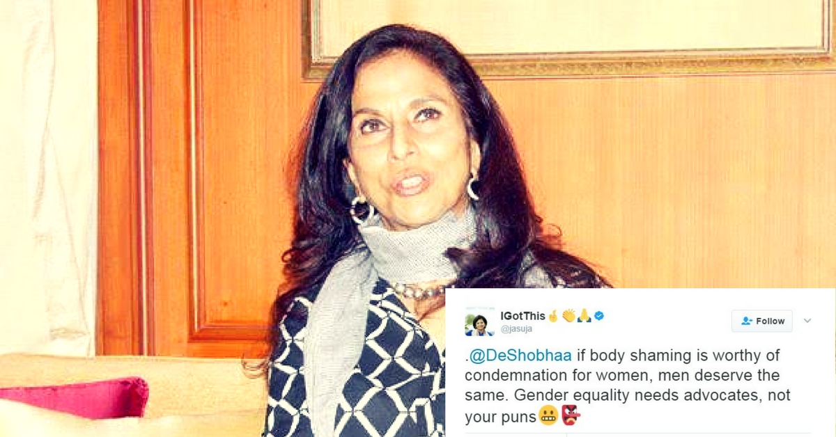 The Cop Fat-Shamed by Shobhaa De's Tweet Speaks out as Social Media Rallies Around Him