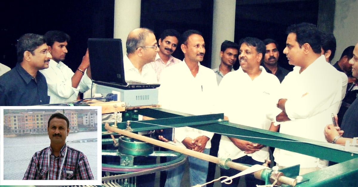 Govt Subsidy for Padma Shri Mallesham's Innovative Asu Lakshmi Machine Will Greatly Help Weavers