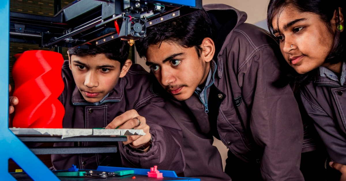 This Educational Startup Aims to Bring Cutting-Edge 3D Printing to Every School in India