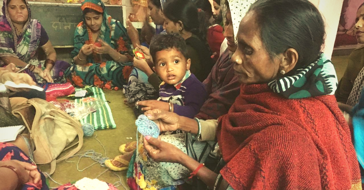 TBI Blogs: How Crocheting Is Helping Women in a South Delhi Slum Knit Their Lives Together