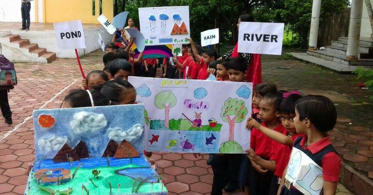 TBI Blogs: Saving Water to Growing and Selling Vegetables: Kids in This Indore School Learn Beyond Classrooms