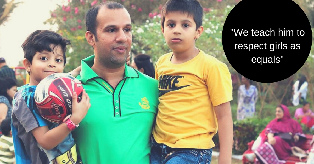 In Football and in Life, This Father Teaches His Son to Treat Women Equally. And People Are Loving It!