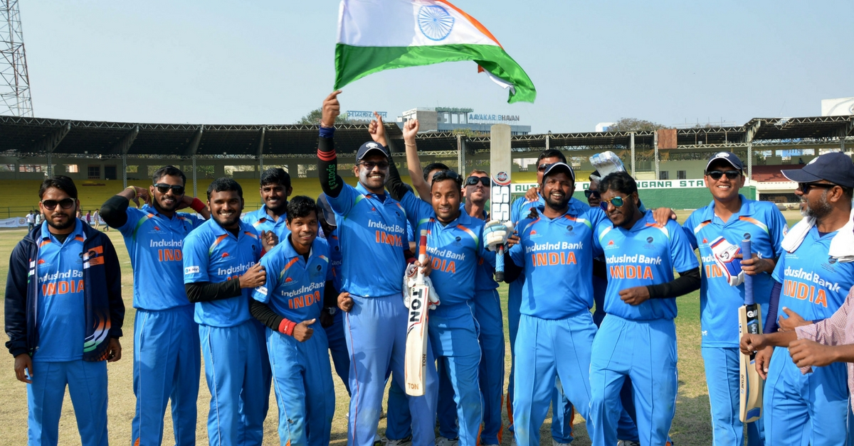 TBI Blogs: India's Blind Cricket Team Has Participated in 4 World Cups over 27 Years. And It Recently Won Too.