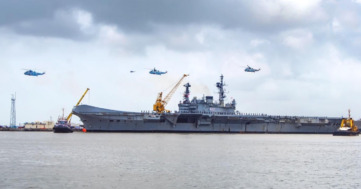 World's Oldest-Serving Warship, INS Viraat, Will Soon Sail Into the Waters of History
