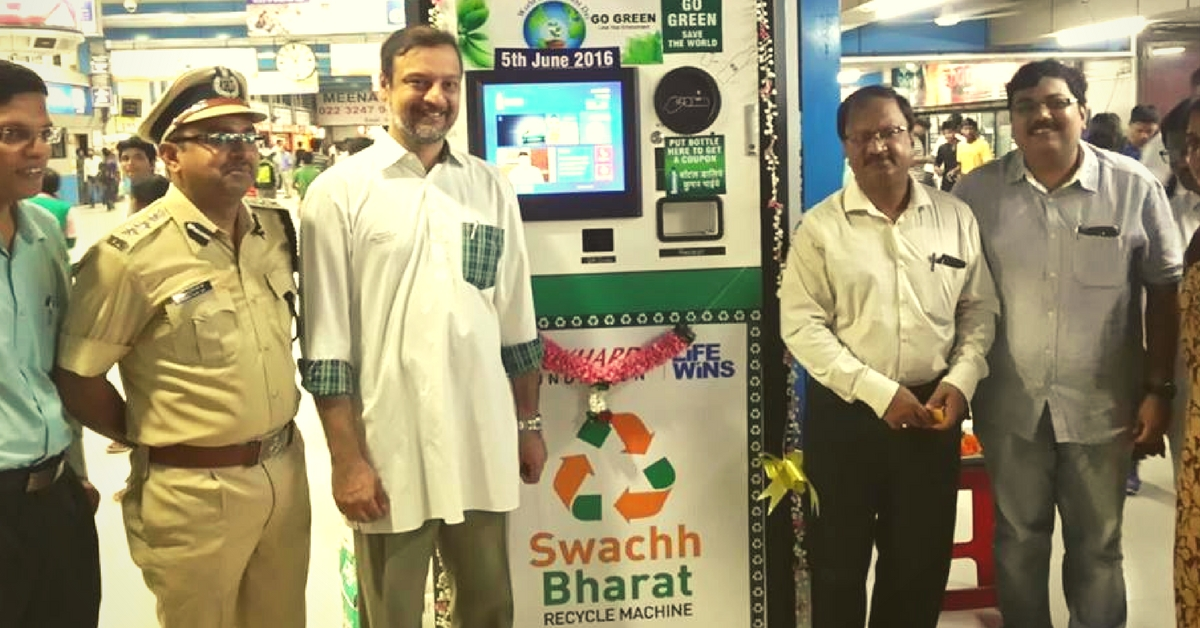 Use These Plastic Recycling Machines at 10 Mumbai Train Stations and Get Paid for It!