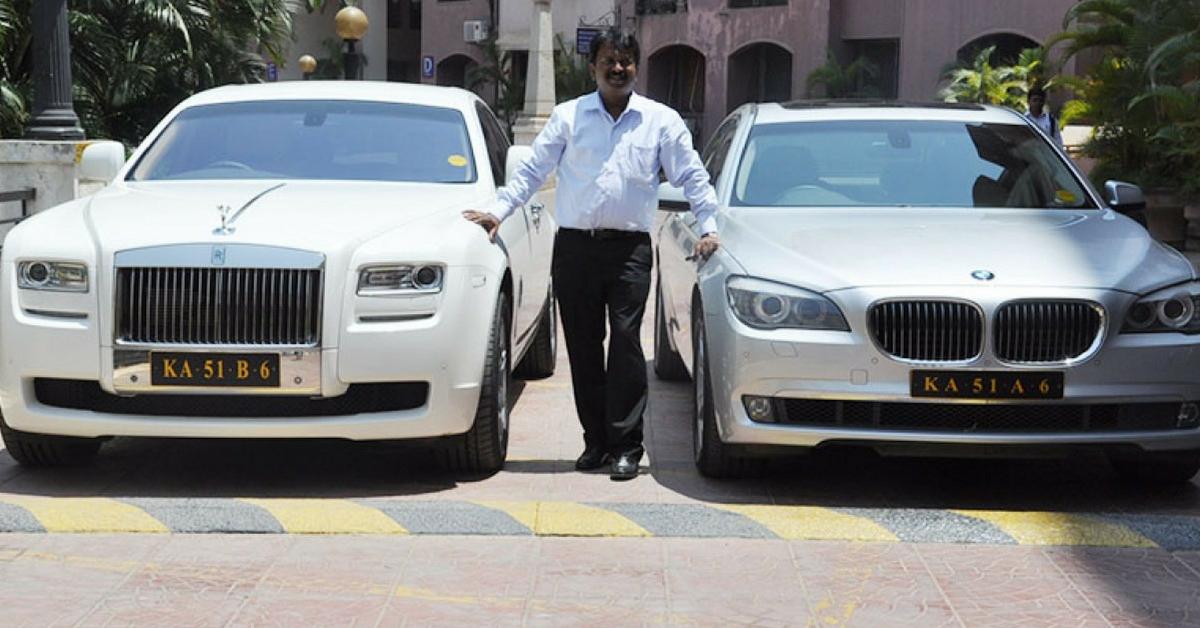 Meet Ramesh Babu, the Billionaire Barber Who Owns 400+ Cars, Including BMWs, Jaguars & a Rolls Royce