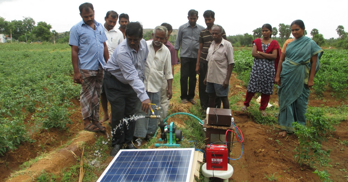 Farmers in Tamil Nadu Are Growing Crops Despite Drought & Power Shortage With Help From One Man