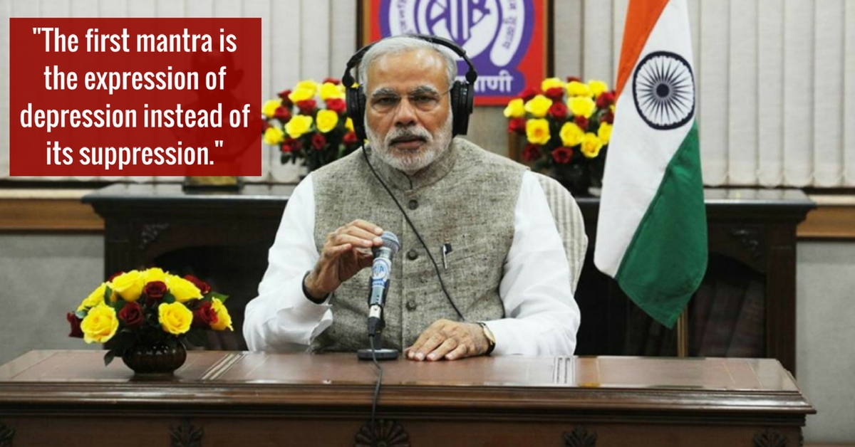 PM Modi's Mann Ki Baat About Depression Highlights an Issue That Deserves a Lot More Attention