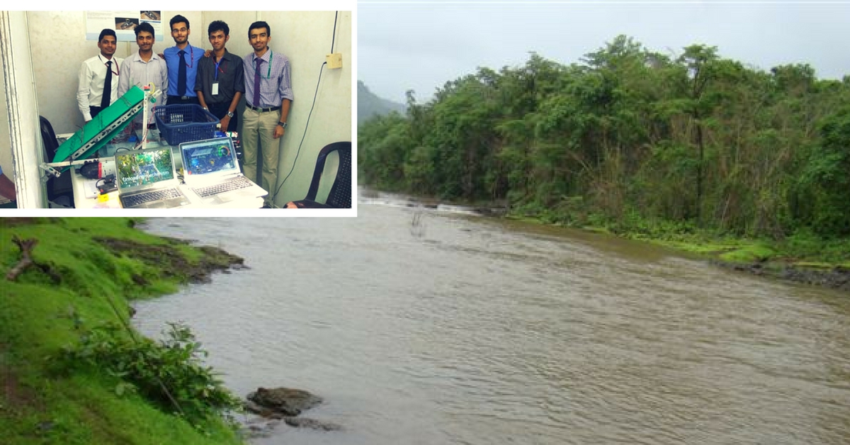 This Low-Cost Robot Designed by Mumbai Students Could Clean up the Pollution in India's Rivers