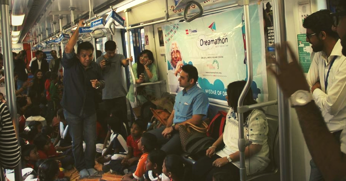 All Aboard the Sapno ka Dibba! A Metro Ride Inspires Underprivileged Kids to Reach for Their Dreams