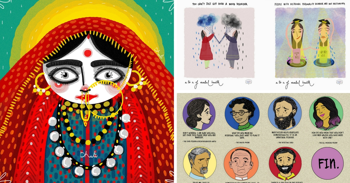 5 Women Illustrators From India Who Use the Power of Art to Shatter Taboos and Change Mindsets