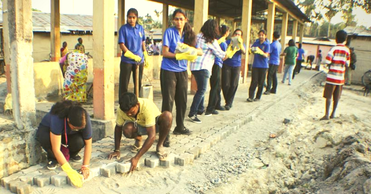 Students in Assam Are Building Roads So Villagers Can Have Safer Access to Daily Needs