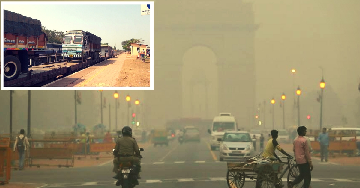 Indian Railways' RORO Service Might Just Be the Solution to Delhi's Pollution Woes