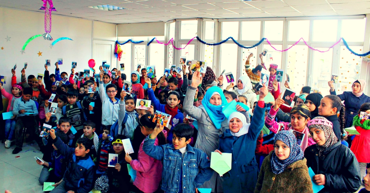 How an Indian Woman Got the World to Send Letters of Love to Syrian Refugee Kids
