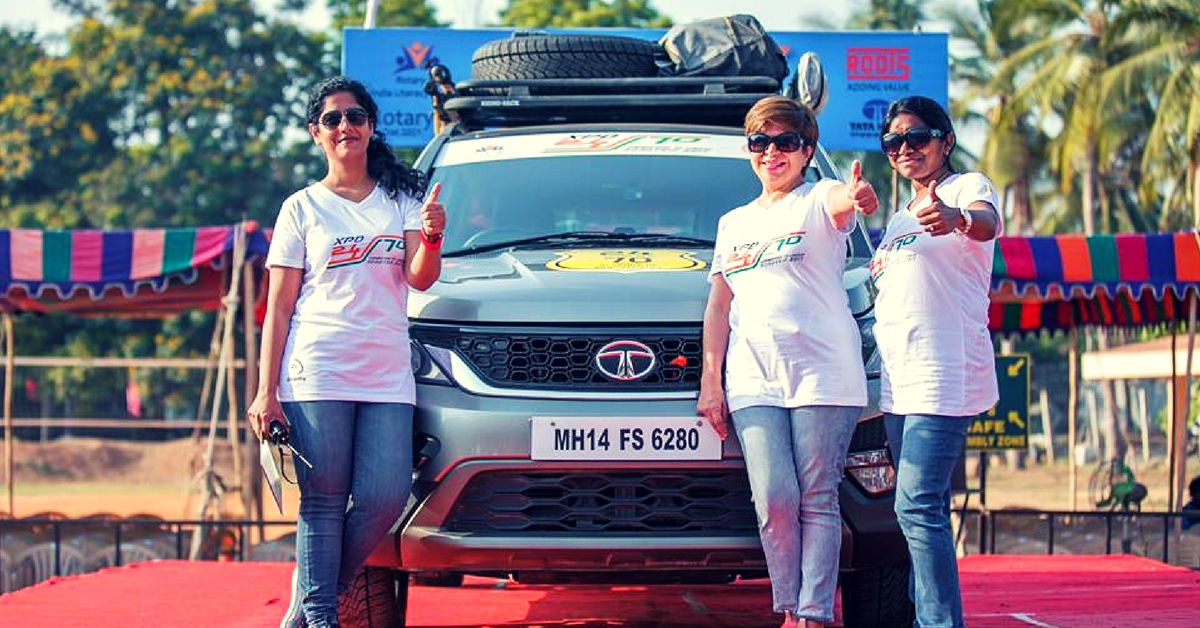 From Coimbatore to London: 4 Women Are Driving 24,000 Km in 70 Days for an Important Reason