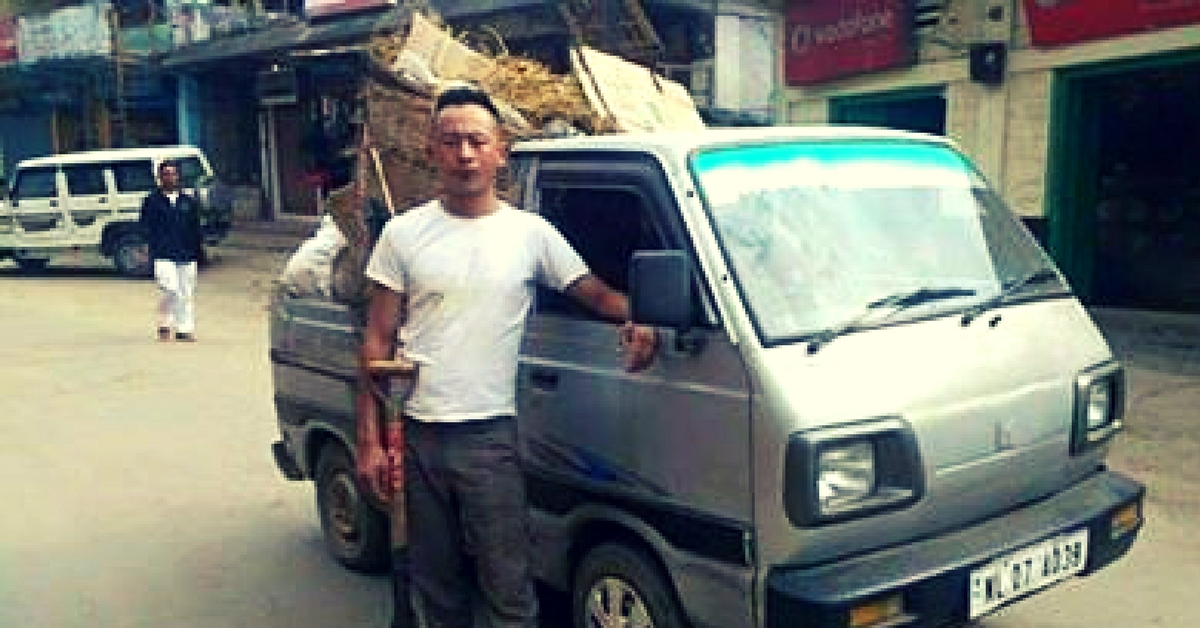 When Garbage Started Piling in His Town, a Nagaland Constable Started Collecting It Himself!
