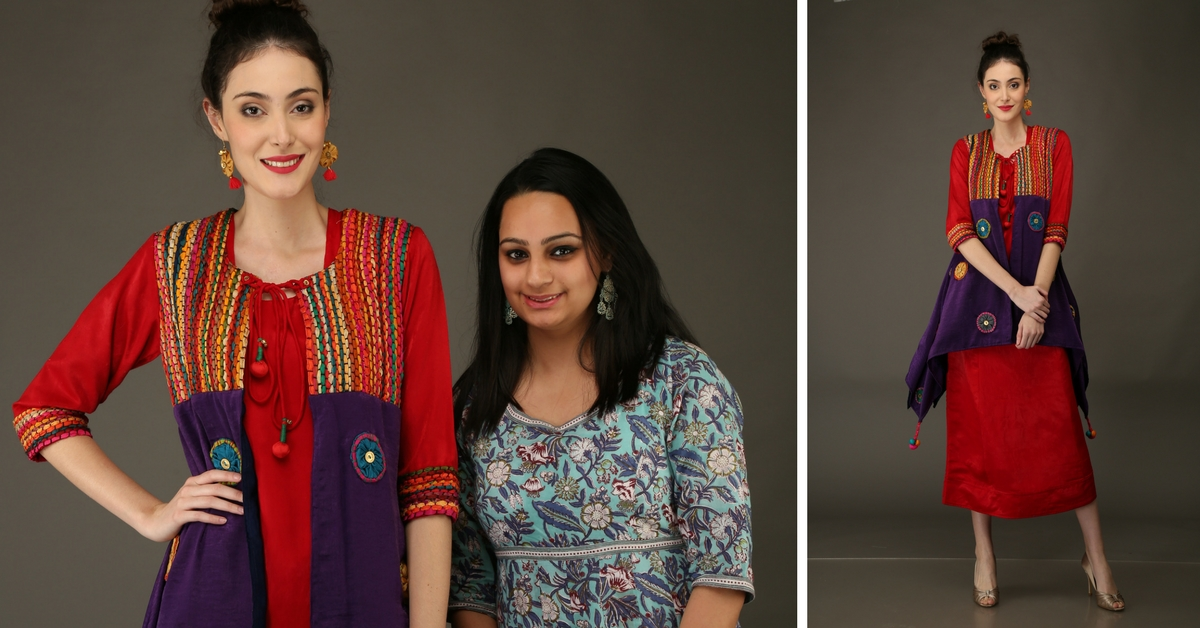This Budding Designer From Delhi Makes Eco-Friendly & Affordable Wedding Wear From Waste Fabric