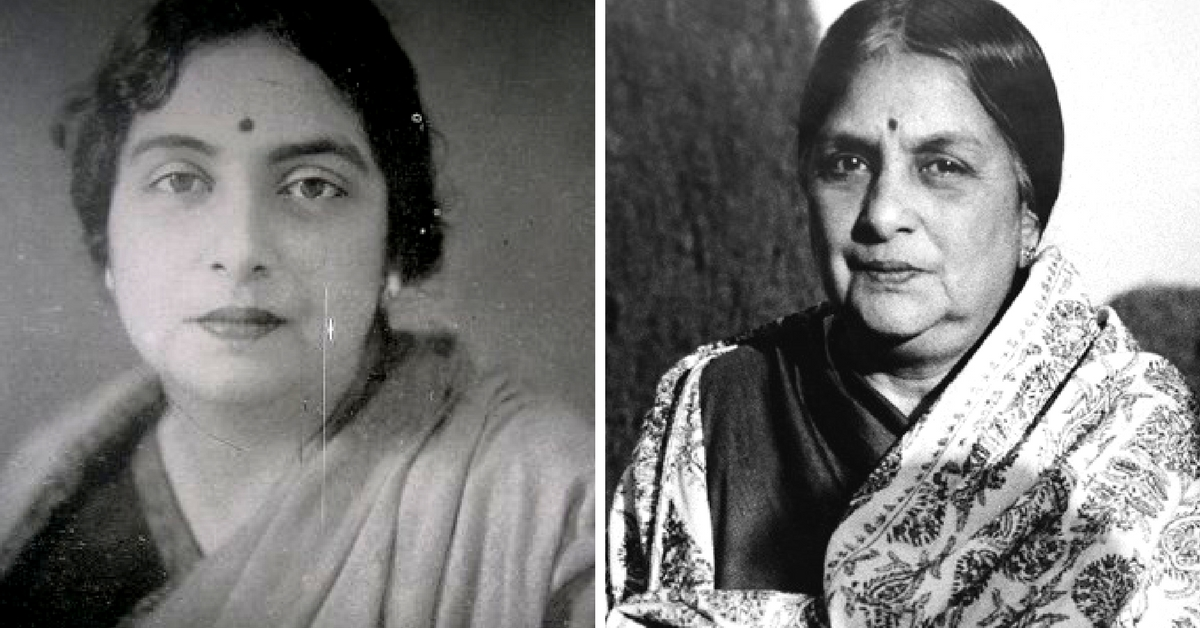 A Freedom Fighter With a Feminist Soul, This Woman's Contributions to Modern India Are Staggering!