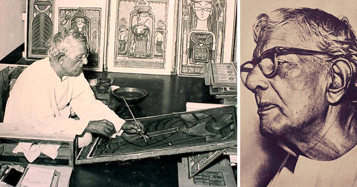 Jamini Roy: The Rebel Artist Who Rejected His Western Training to Return To His Roots