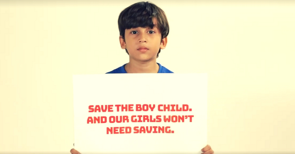 'Save Our Boys To Save Our Girls.' This Video Has An Unconventional Message For Society