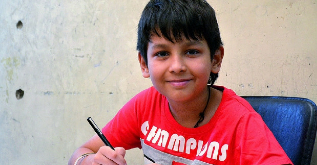 An 11-Year-Old Has Just Cleared Class 12, and He Now Aims to Be a Doctor!