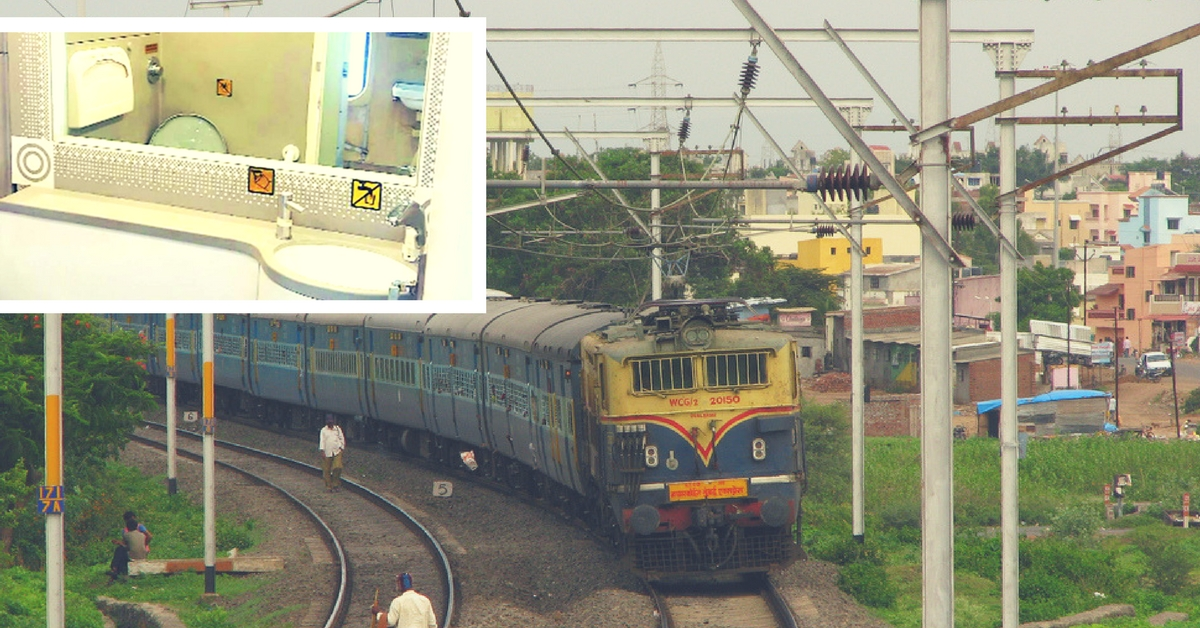 Dread the Toilets on Indian Trains? They're All Set to Get a Much-Needed, Swanky Makeover!