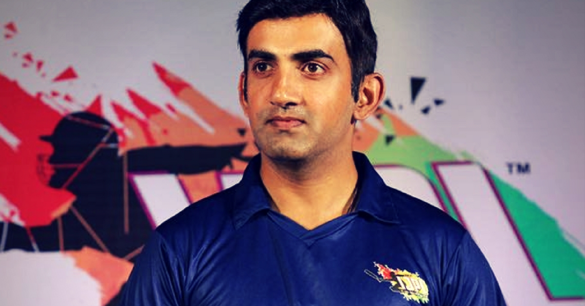 After Sukma Tragedy, Gautam Gambhir Vows to Pay for Education of CRPF Martyrs' Kids