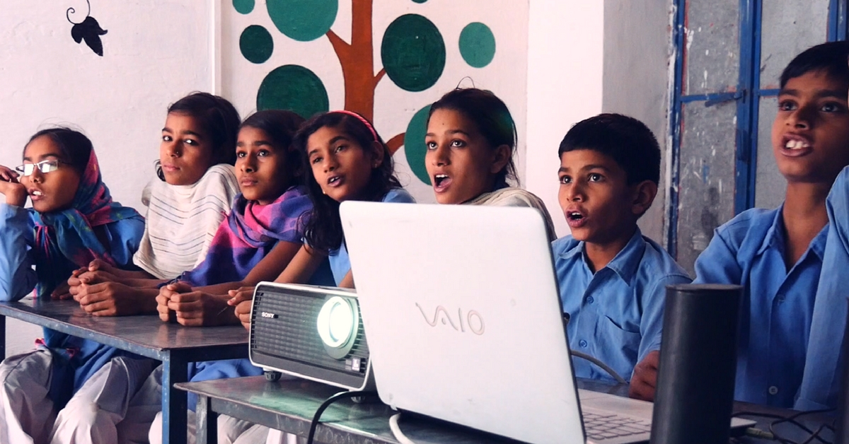 Government Schools in Rajasthan Are Going Hi-Tech with Laptops, Printers & Projectors!