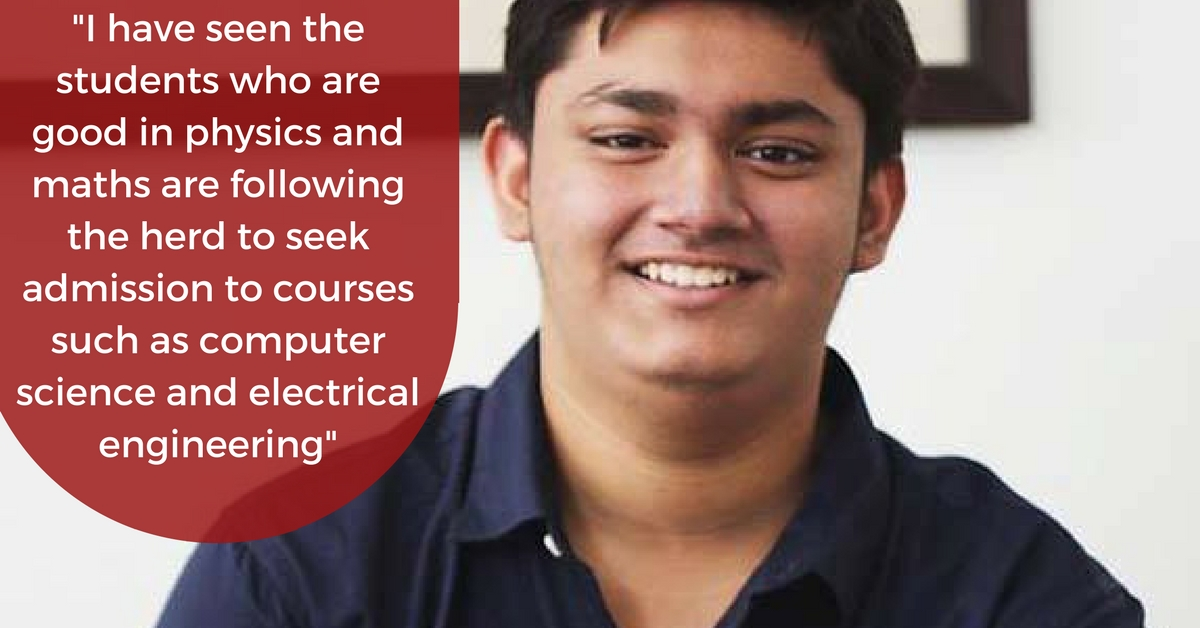 Don't Follow Herd Mentality, Says Topper Who Quit Engineering in IIT Bombay to Follow His Dream