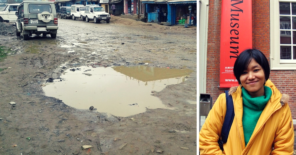 This 24-Year-Old Is Trying to Repair a Long-Forgotten Road in Her Remote Manipur Hometown