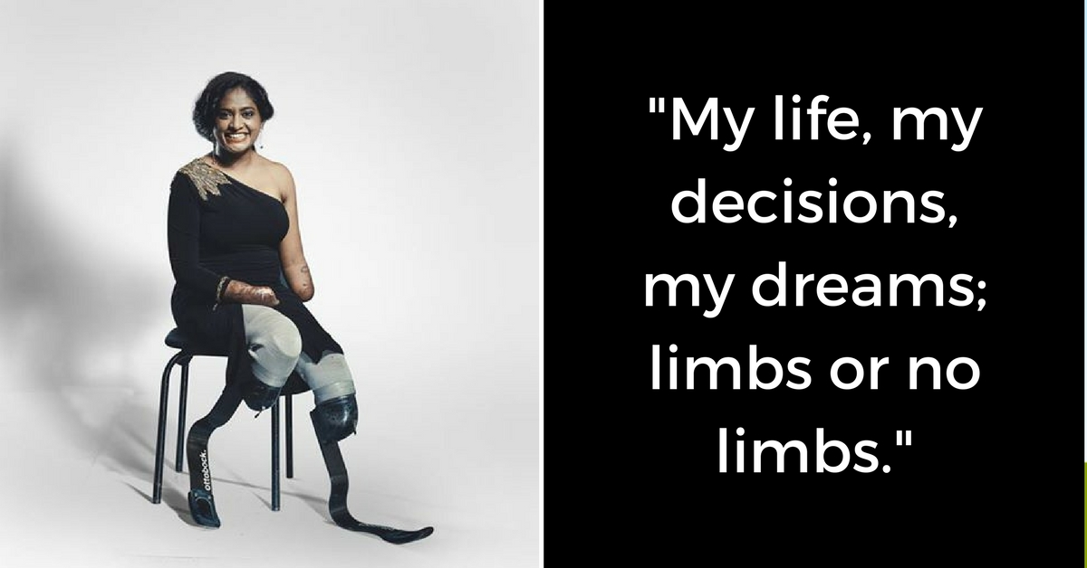After Losing Both Her Arms & Legs, This Blade Runner's Story Is Winning a Million Hearts