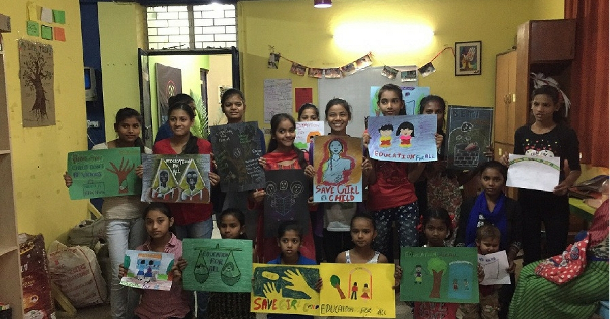 TBI Blogs: Underprivileged Girls Are Exploring Issues of Gender, Identity & Self-Expression Through Art