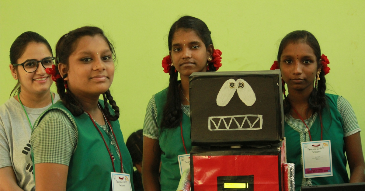 TBI Blogs: 3 Girls from a Chennai Shelter Home Built a Working Robot from Scratch with Minimal Formal Training