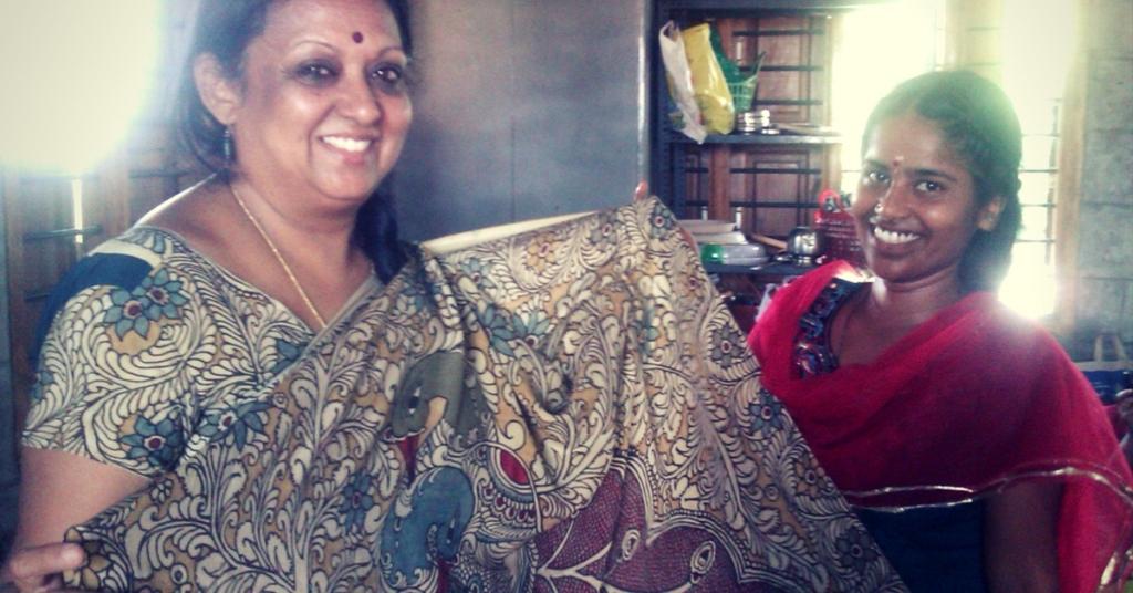 Meet the Padma Shri awardee & Artisans from Andhra Pradesh Preserving the Art of Hand-Drawn Kalamkari