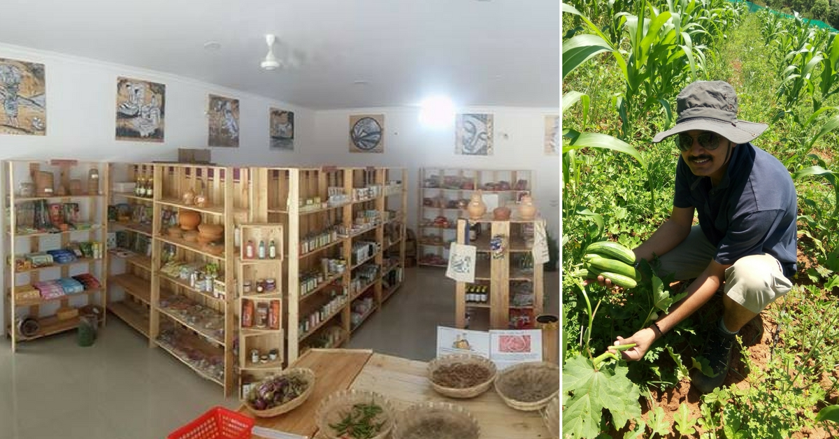 Meet the Bengaluru Techie-Turned-Farmer Whose Natural Foods Are a Huge Hit with Consumers