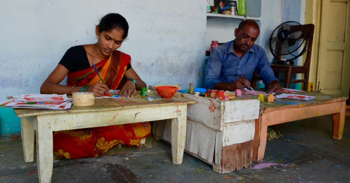 TBI Blogs: This Couple Is Trying to Preserve Telangana's Fascinating Cheriyal Scroll Paintings