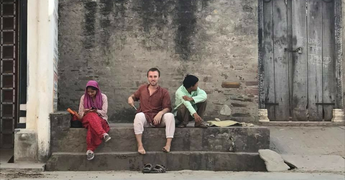 TBI Blogs: This UK National Chose to Volunteer in Rural Rajasthan. What He Found There Changed His Worldview