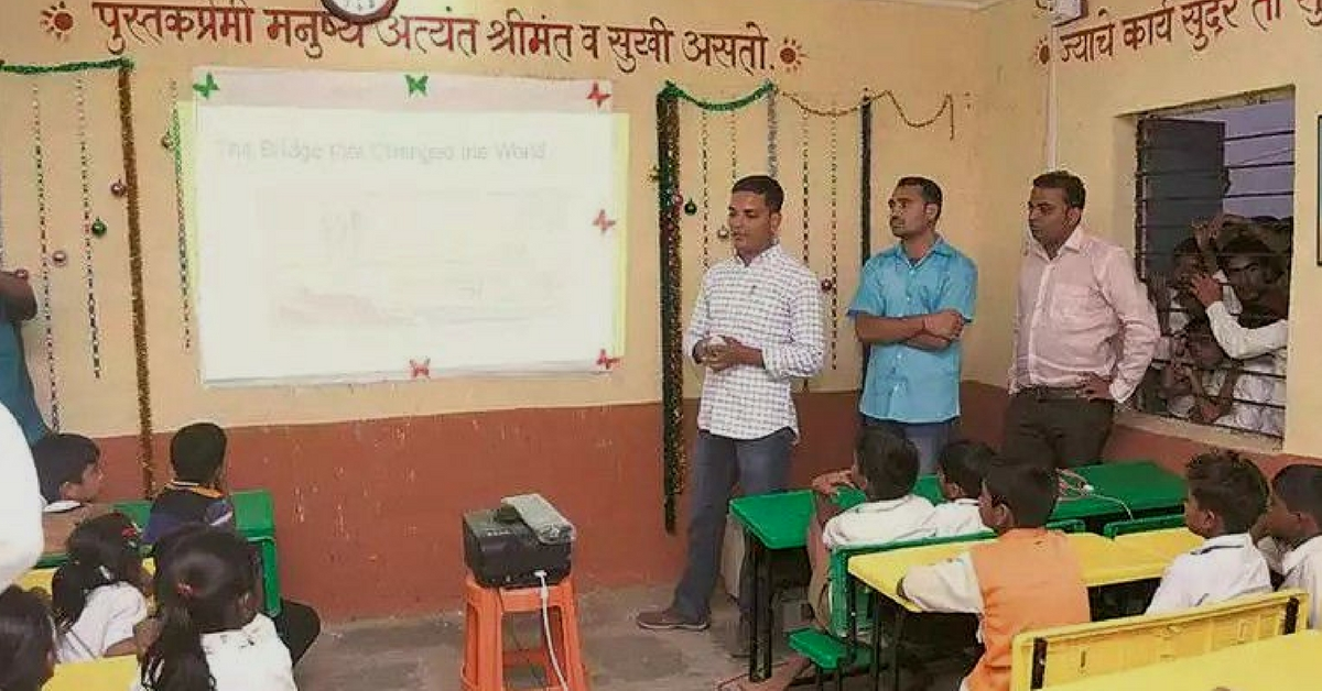 47,000 Govt Schools in Maharashtra's Villages Are Now Digital Thanks to Some Amazing Heroes
