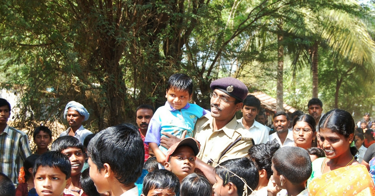 After Inspiring More Than a Lakh People to Donate Their Eyes, This IPS Officer Has Now Adopted a Village