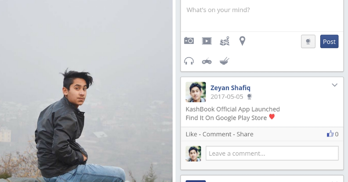 This 16-Year-Old Boy's Homegrown Version of Facebook Helps Kashmiris Overcome the Social Media Ban