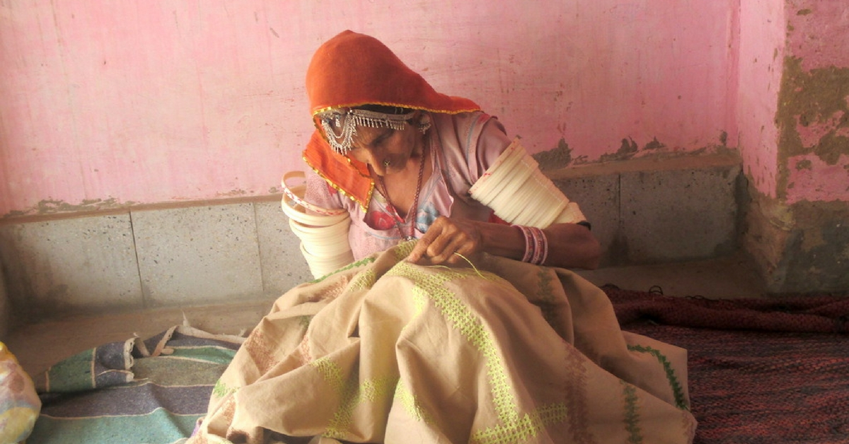 TBI Blogs: Displaced by War, Women in Thar Desert Find Empowerment in Traditional Needlework