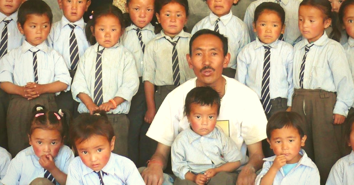 This Policeman in Leh Used His Savings to Start a School for Rural Children