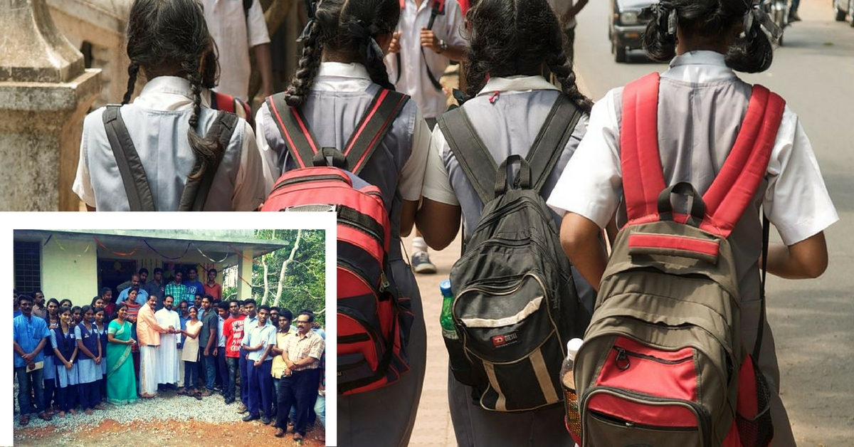 Meet the School Students From Kerala Who Raised ₹4.5 Lakhs to Help Build a Home for Their Friend
