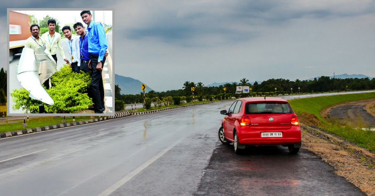 These Bengaluru Engineering Students Want to Light up the City Using Highway Wind Turbulence