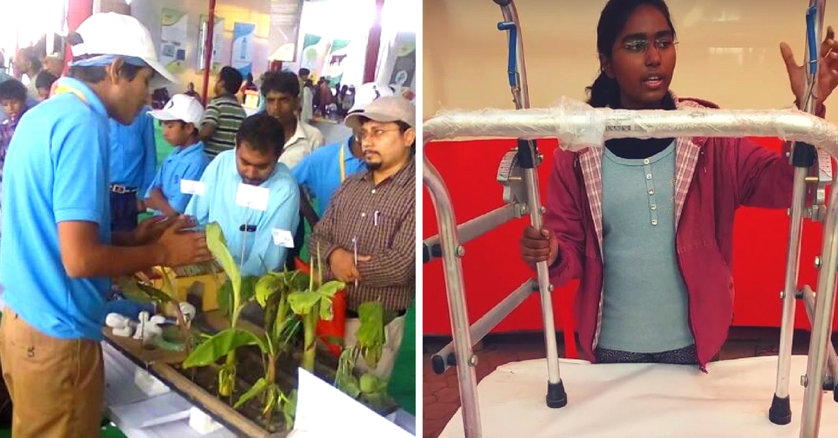 What Are Kids in Bihar Doing? Making Electricity from Banana Stems & Walkers That Help Climb!