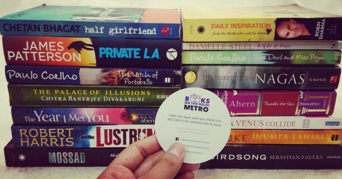Not Just Emma Watson, This Delhi Couple Is Also Dropping off Free Books in Metros for You to Read